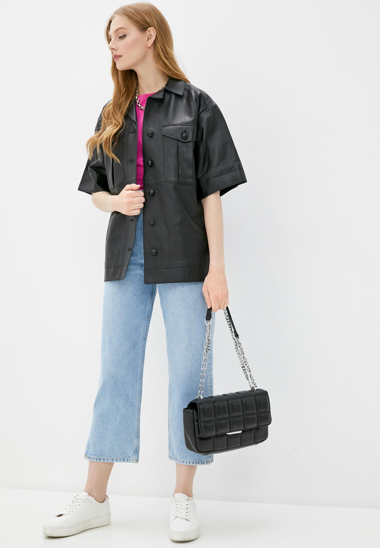 Рубашка с коротким рукавом Topshop Boutique 25L39RBLK: изображение 2