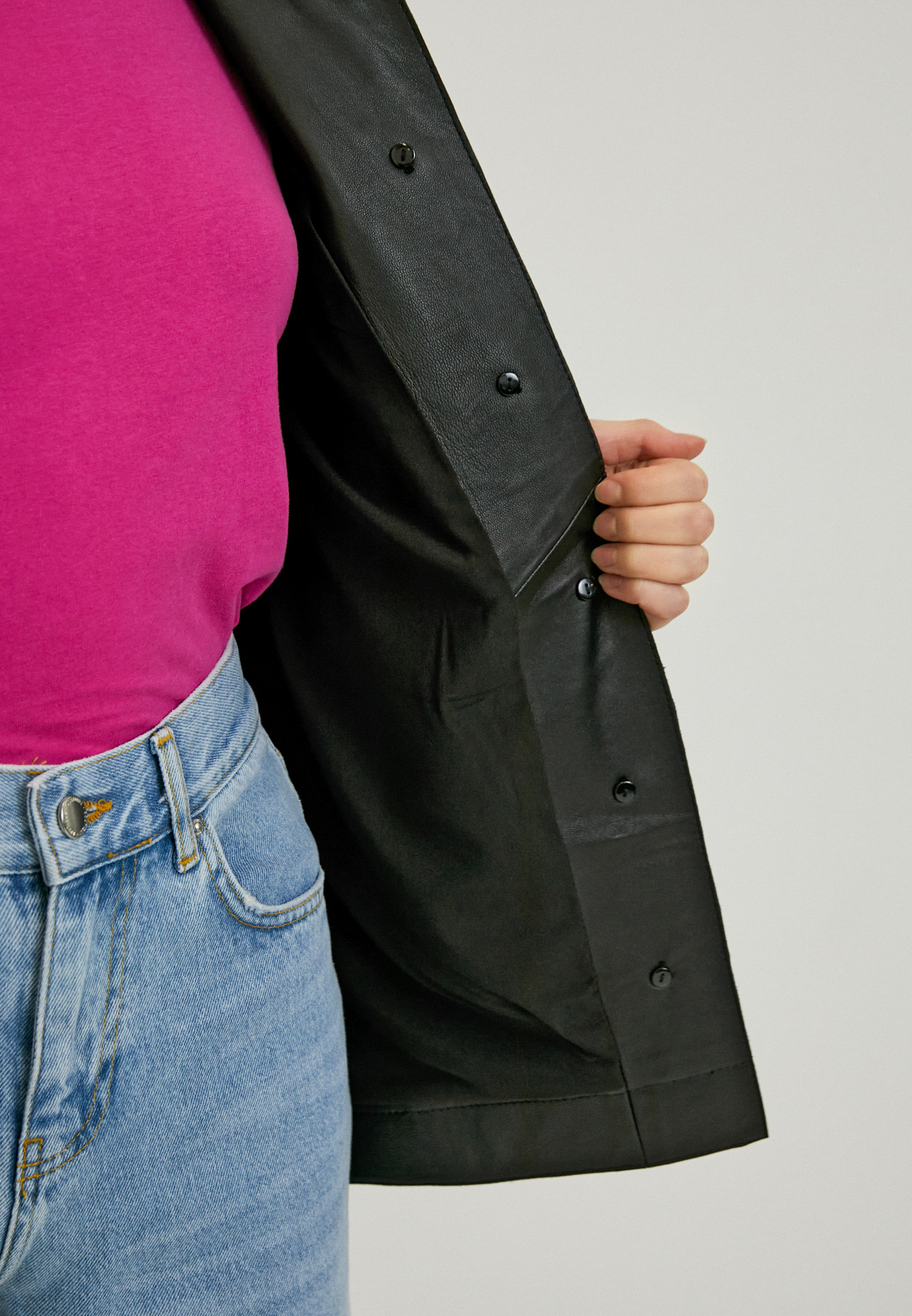 Рубашка с коротким рукавом Topshop Boutique 25L39RBLK: изображение 4