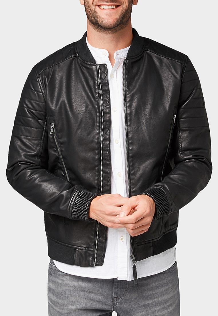 Кожаная куртка Tom Tailor (Том Тейлор) 3555387.00.10