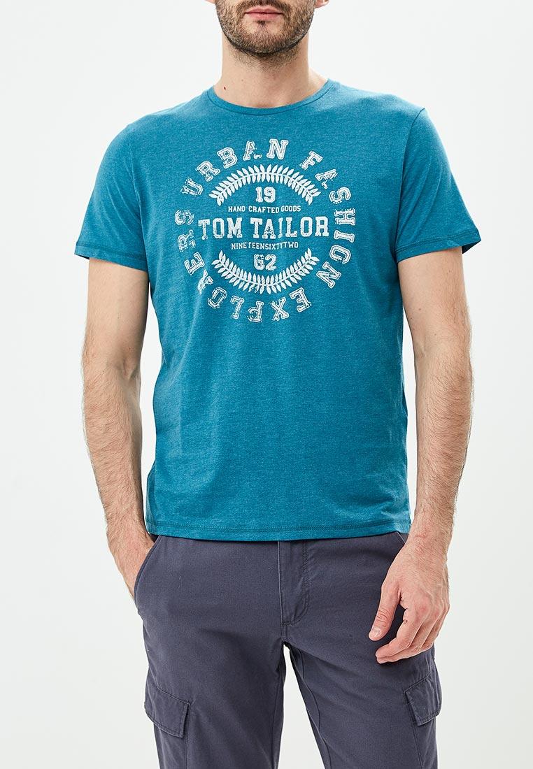 Футболка с коротким рукавом Tom Tailor (Том Тейлор) 1006475