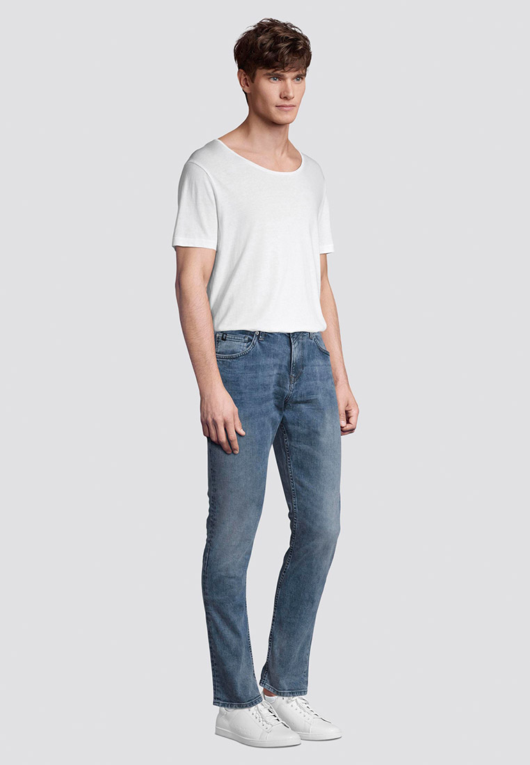Зауженные джинсы Tom Tailor Denim 1008446: изображение 3