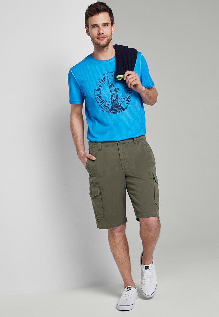 Мужские повседневные шорты Tom Tailor (Том Тейлор) 1016043: изображение 2