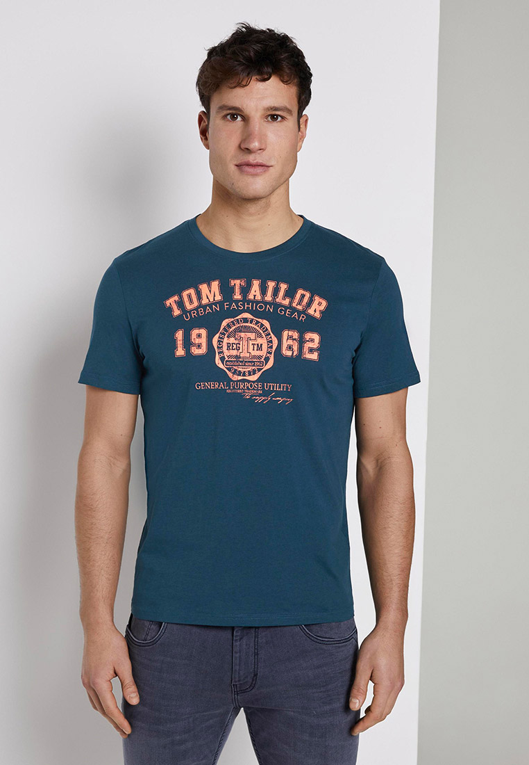 Футболка с коротким рукавом Tom Tailor (Том Тейлор) 1008637: изображение 16