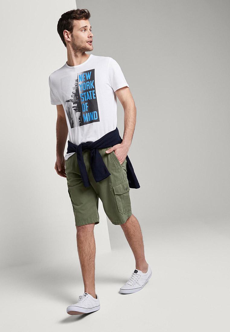 Мужские повседневные шорты Tom Tailor (Том Тейлор) 1016043: изображение 5