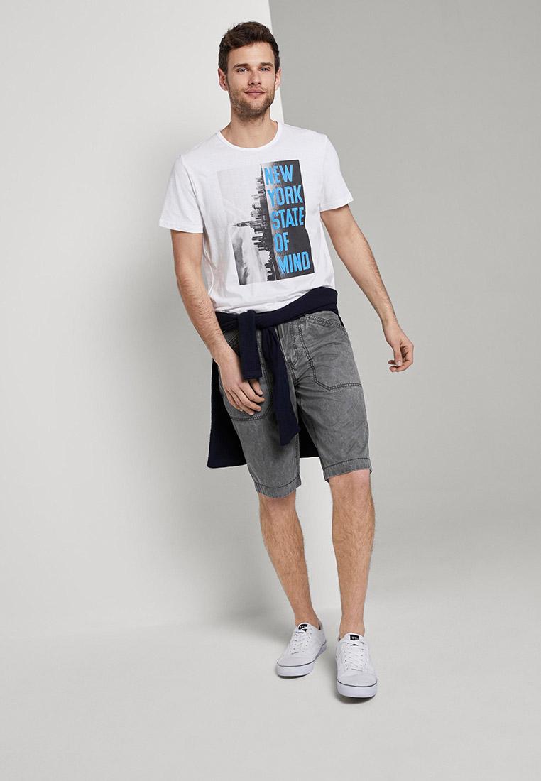 Мужские повседневные шорты Tom Tailor (Том Тейлор) 1016280: изображение 5
