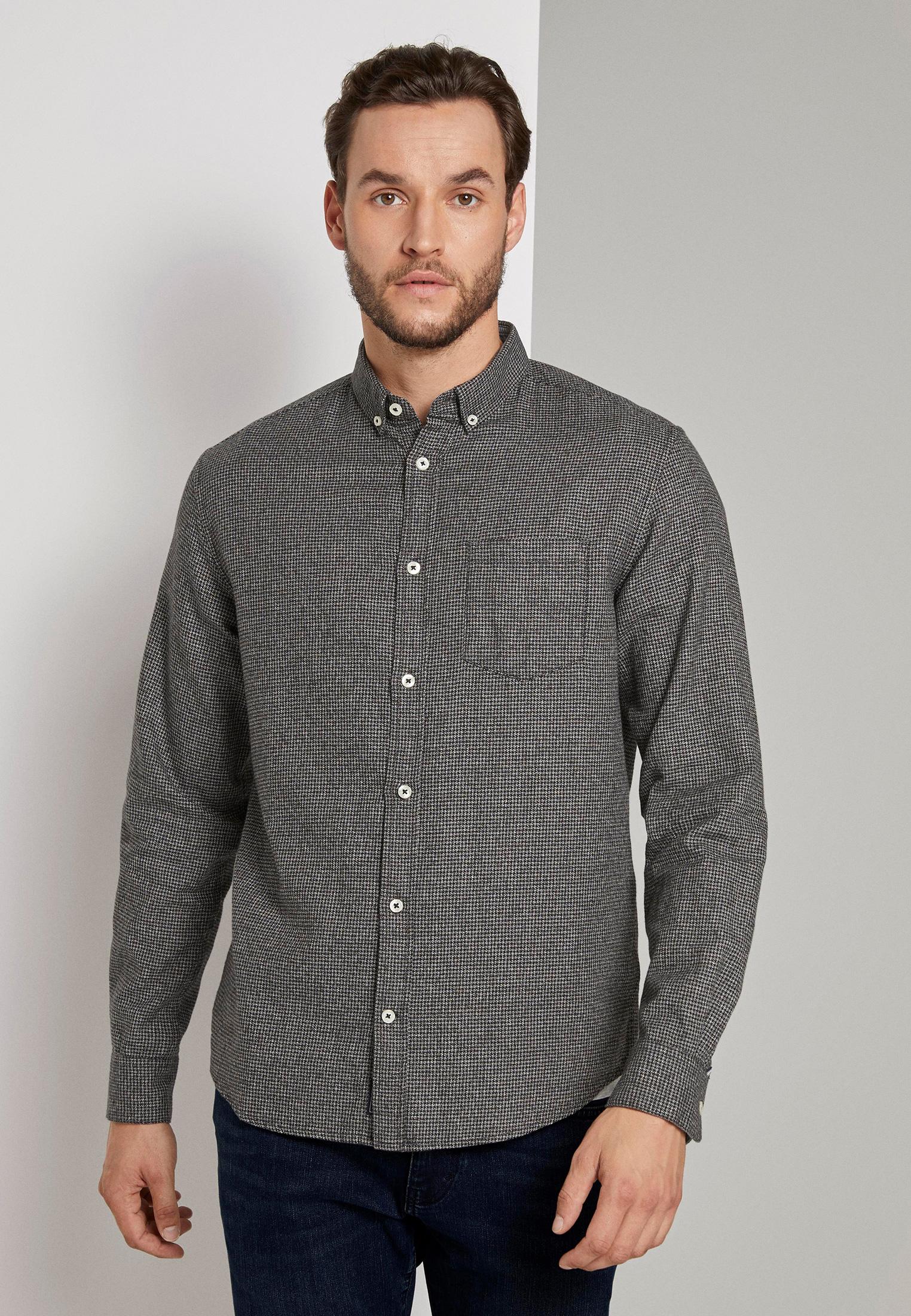 Рубашка с длинным рукавом Tom Tailor (Том Тейлор) 1021254