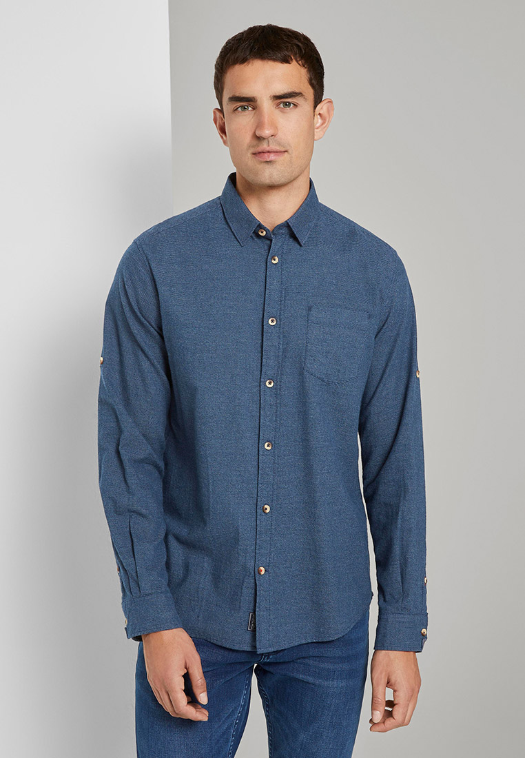 Рубашка с длинным рукавом Tom Tailor (Том Тейлор) 1022324: изображение 1