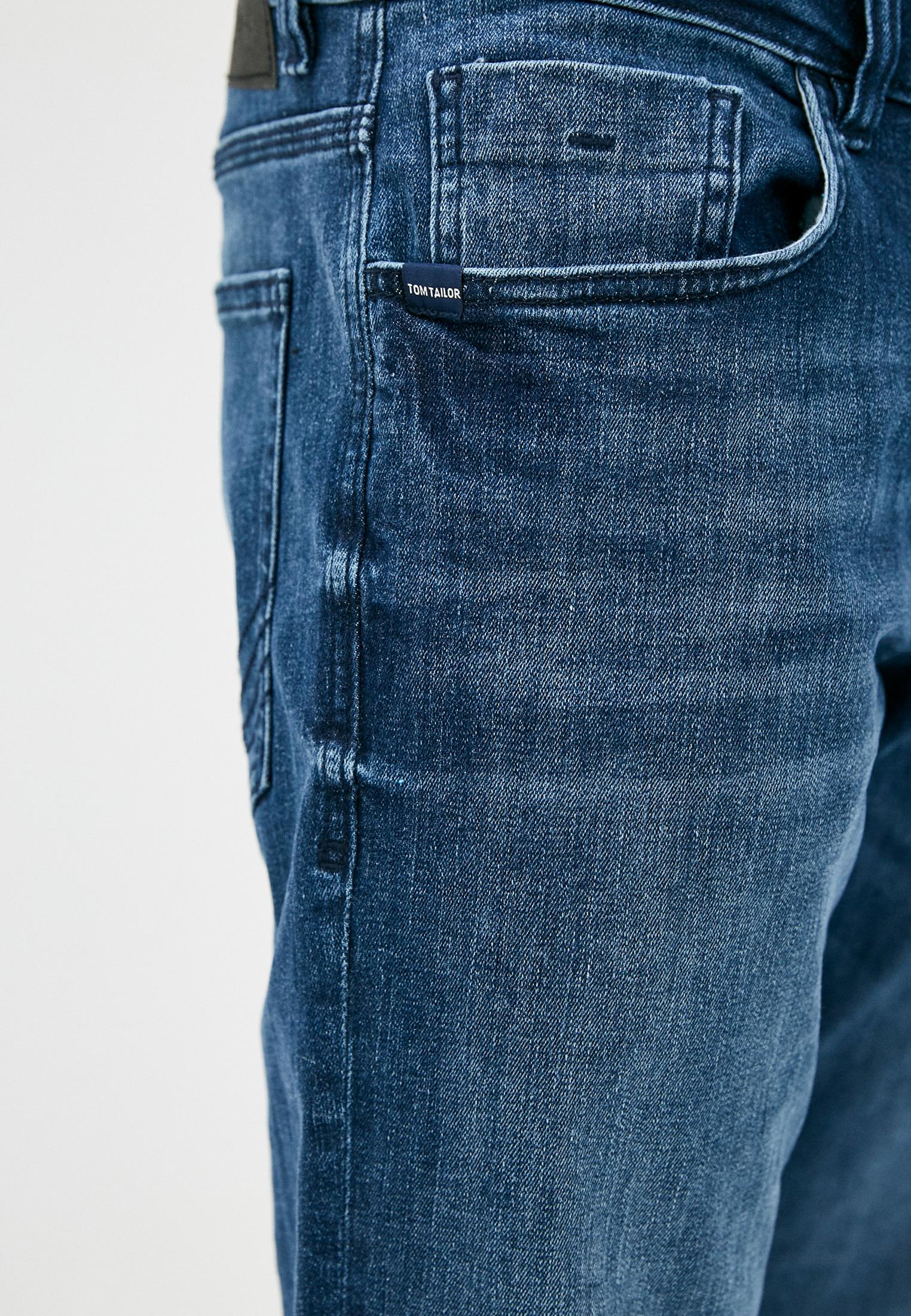 Мужские прямые джинсы Tom Tailor (Том Тейлор) 1024648: изображение 4
