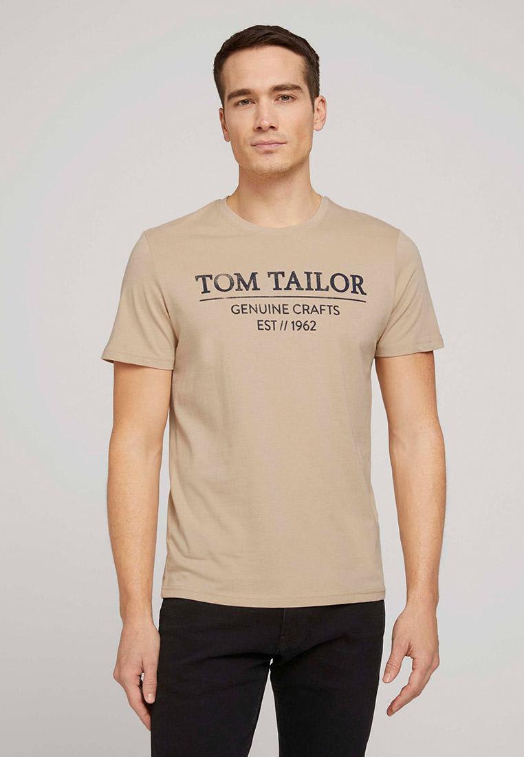 Футболка с коротким рукавом Tom Tailor (Том Тейлор) 1021229: изображение 1