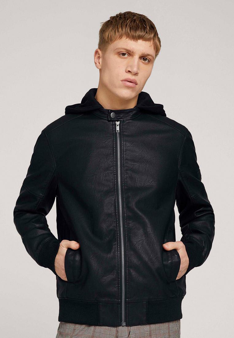 Кожаная куртка Tom Tailor Denim 1024399: изображение 1