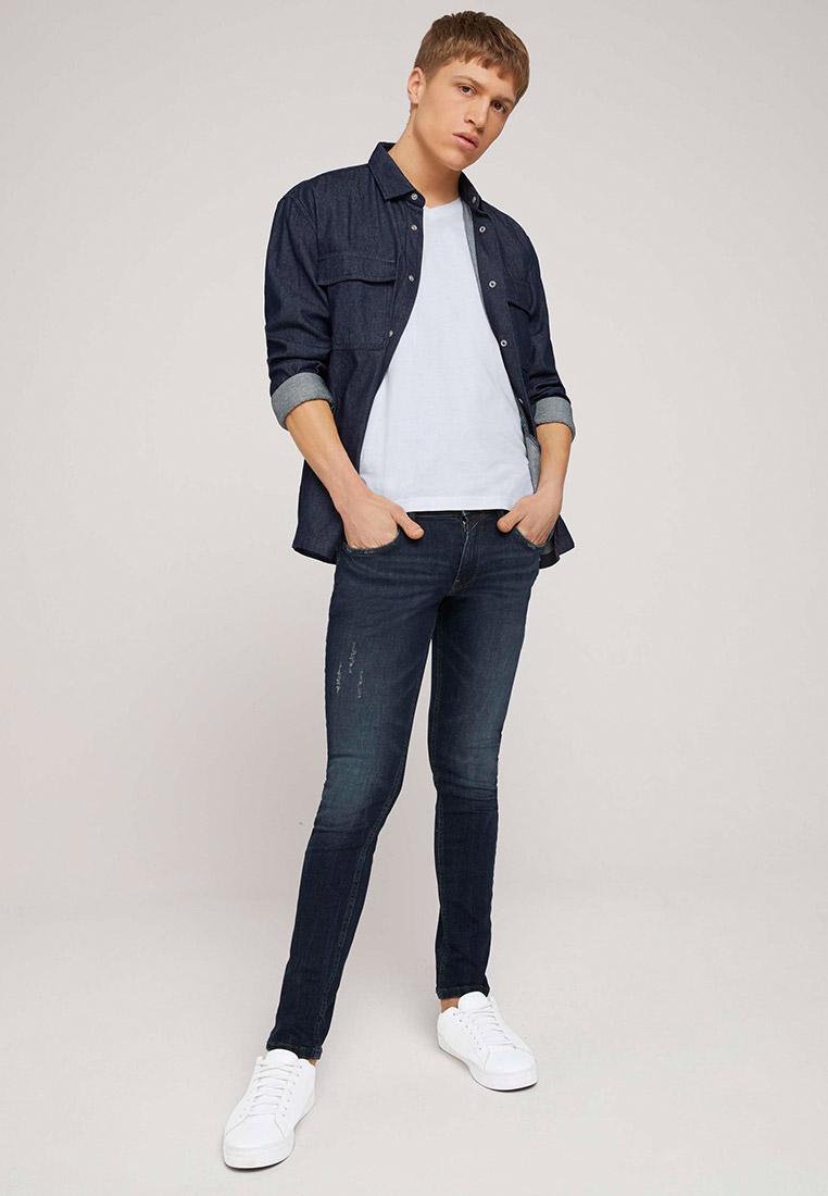 Зауженные джинсы Tom Tailor Denim 1026640: изображение 3