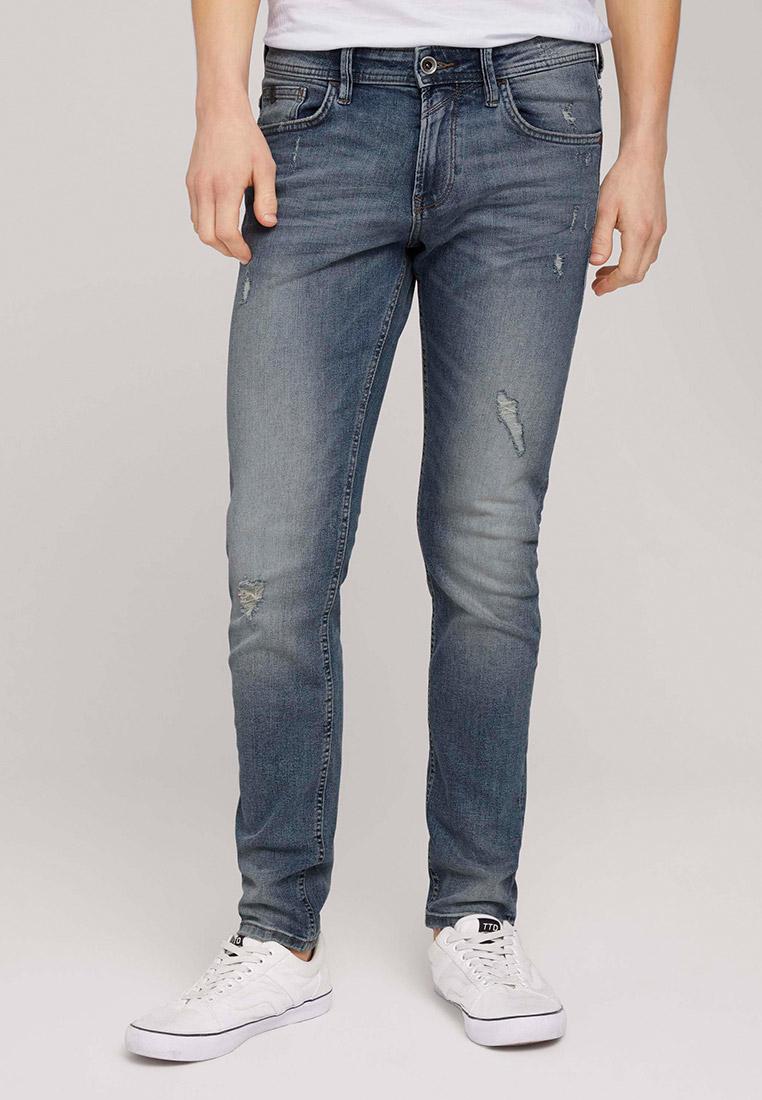 Зауженные джинсы Tom Tailor Denim 1026642: изображение 1