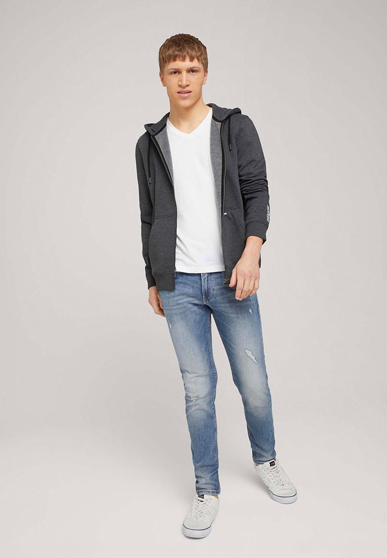 Зауженные джинсы Tom Tailor Denim 1026642: изображение 3
