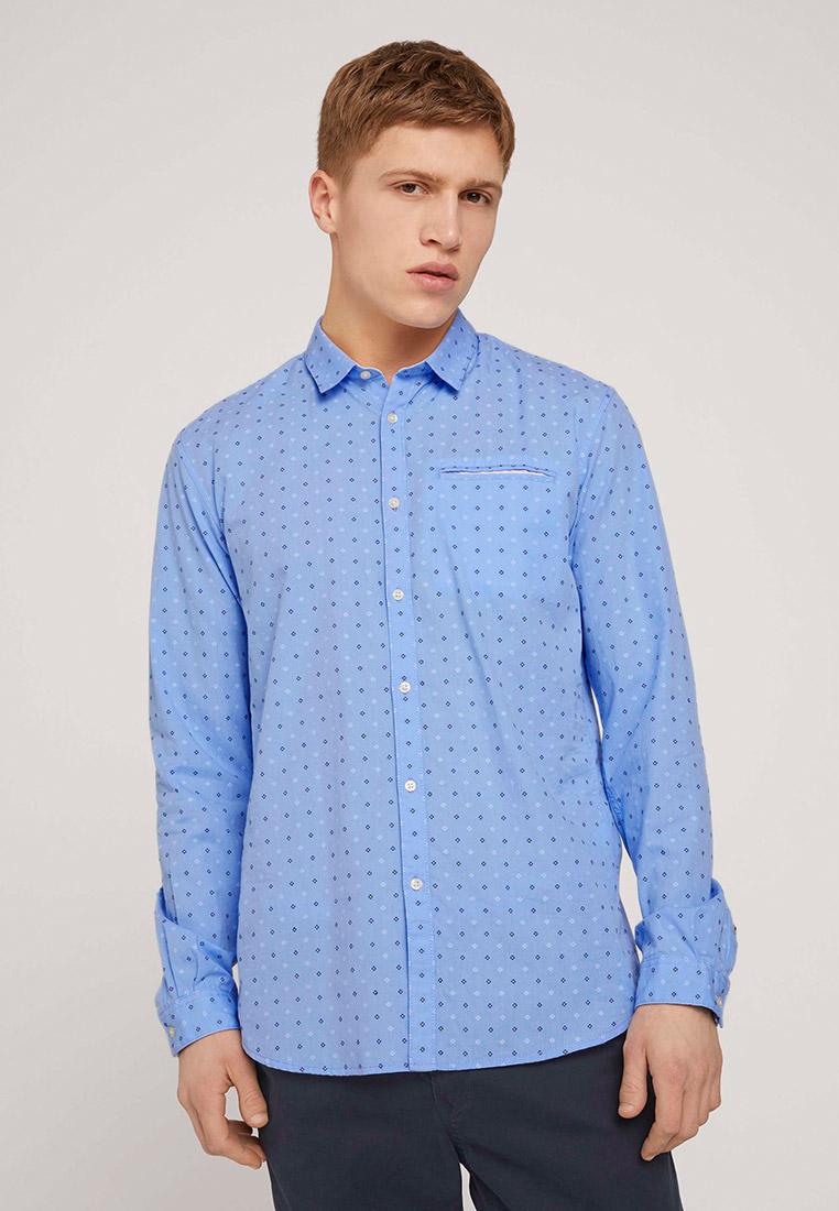 Рубашка с длинным рукавом Tom Tailor Denim 1026646: изображение 1