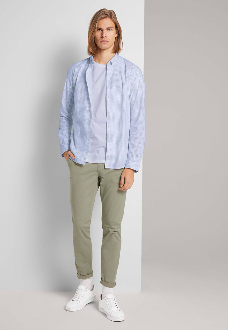 Рубашка с длинным рукавом Tom Tailor Denim 1024395: изображение 3