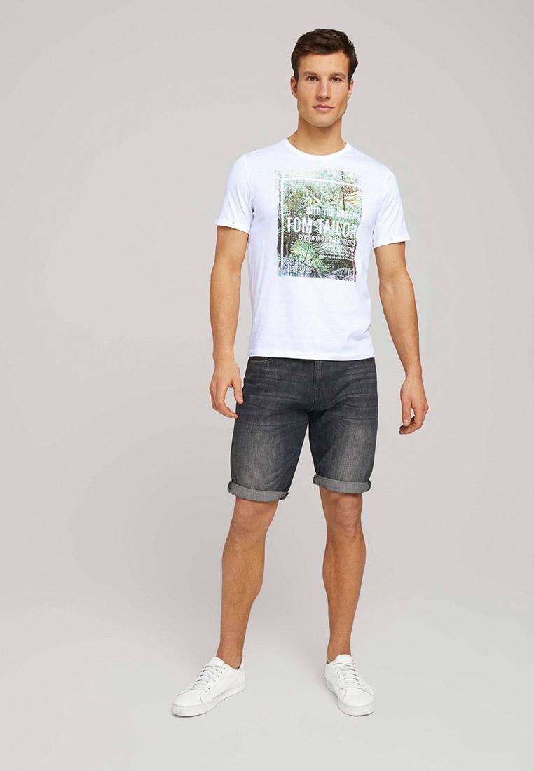 Мужские джинсовые шорты Tom Tailor (Том Тейлор) 1025042: изображение 3