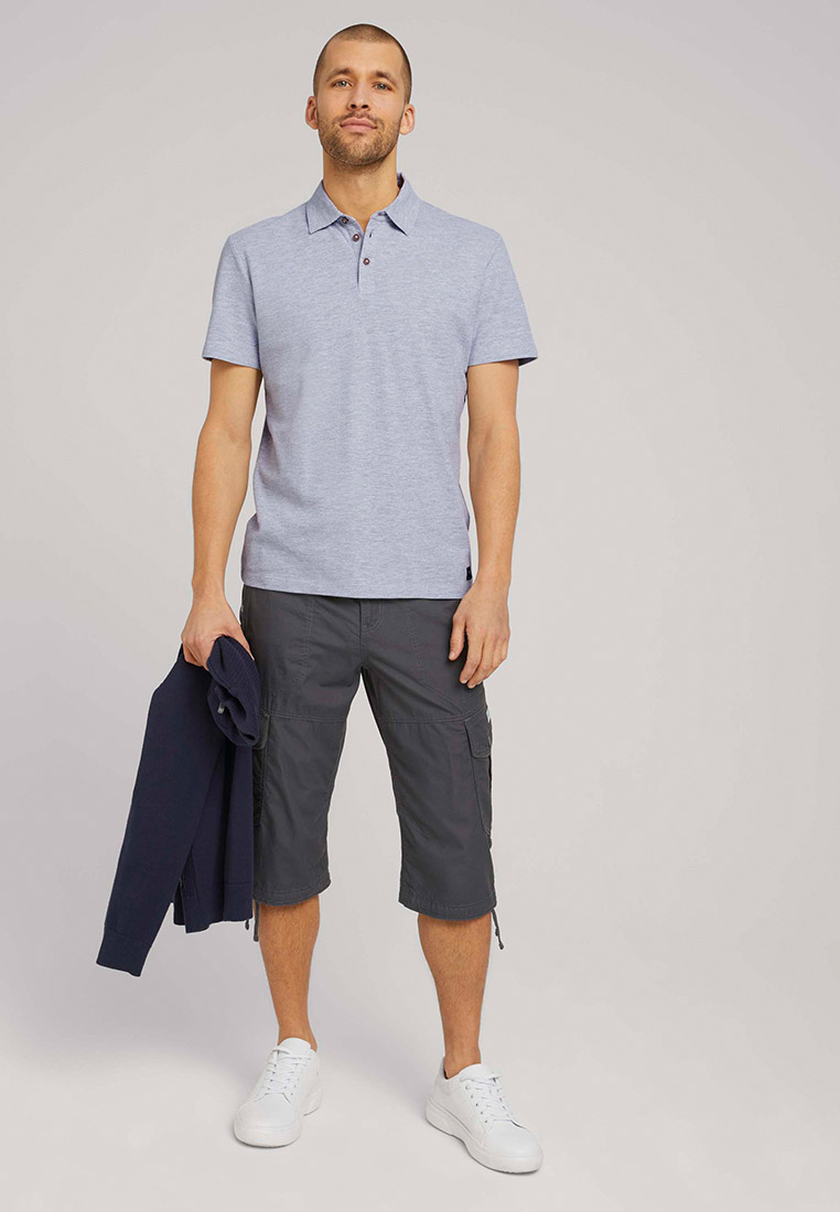 Мужские повседневные шорты Tom Tailor (Том Тейлор) 1026235: изображение 3