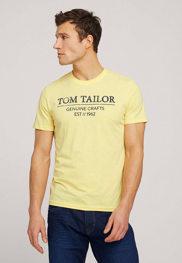 Футболка с коротким рукавом Tom Tailor (Том Тейлор) 1021229: изображение 4