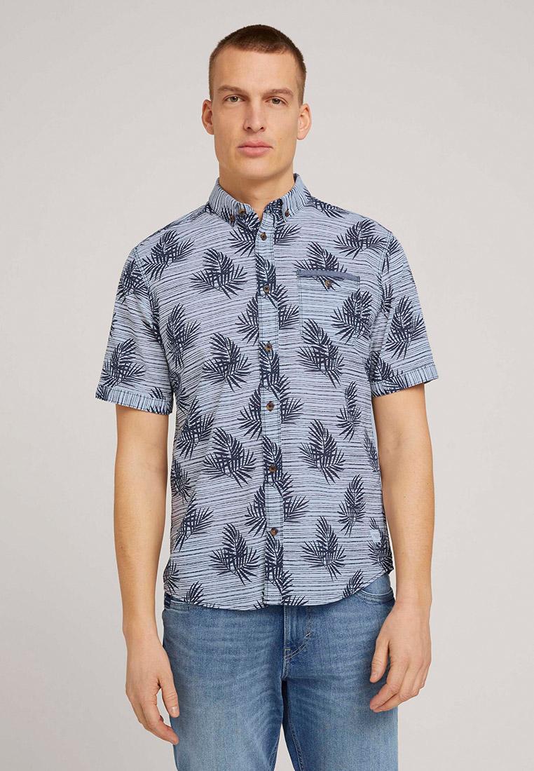 Рубашка с коротким рукавом Tom Tailor (Том Тейлор) Рубашка Tom Tailor