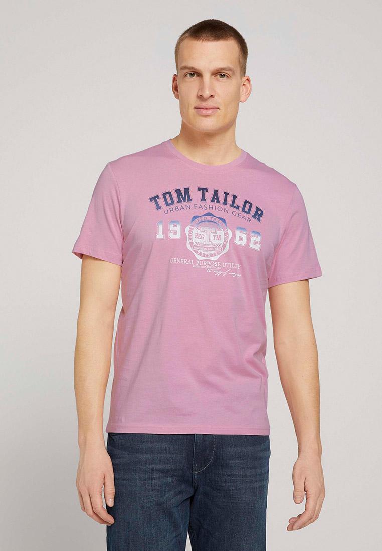 Футболка с коротким рукавом Tom Tailor (Том Тейлор) 1027028: изображение 1