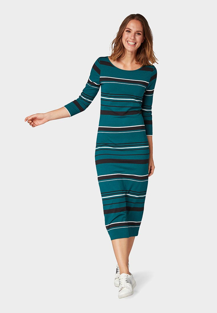 Вязаное платье Tom Tailor (Том Тейлор) 5055198.00.70