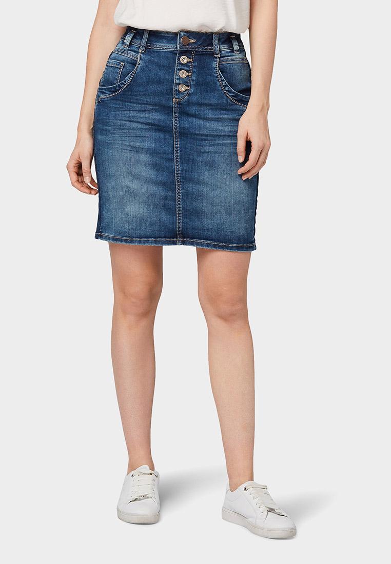 Джинсовая юбка Tom Tailor (Том Тейлор) 1013499