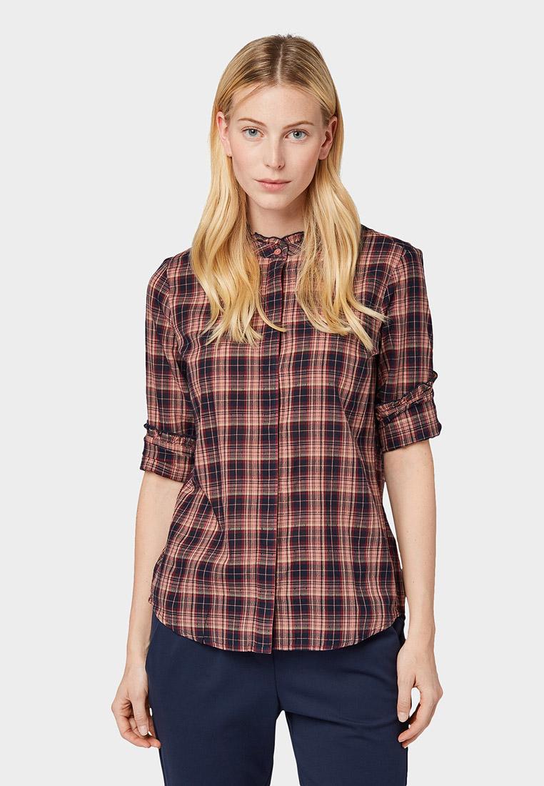 Женские рубашки с длинным рукавом Tom Tailor (Том Тейлор) 1013611