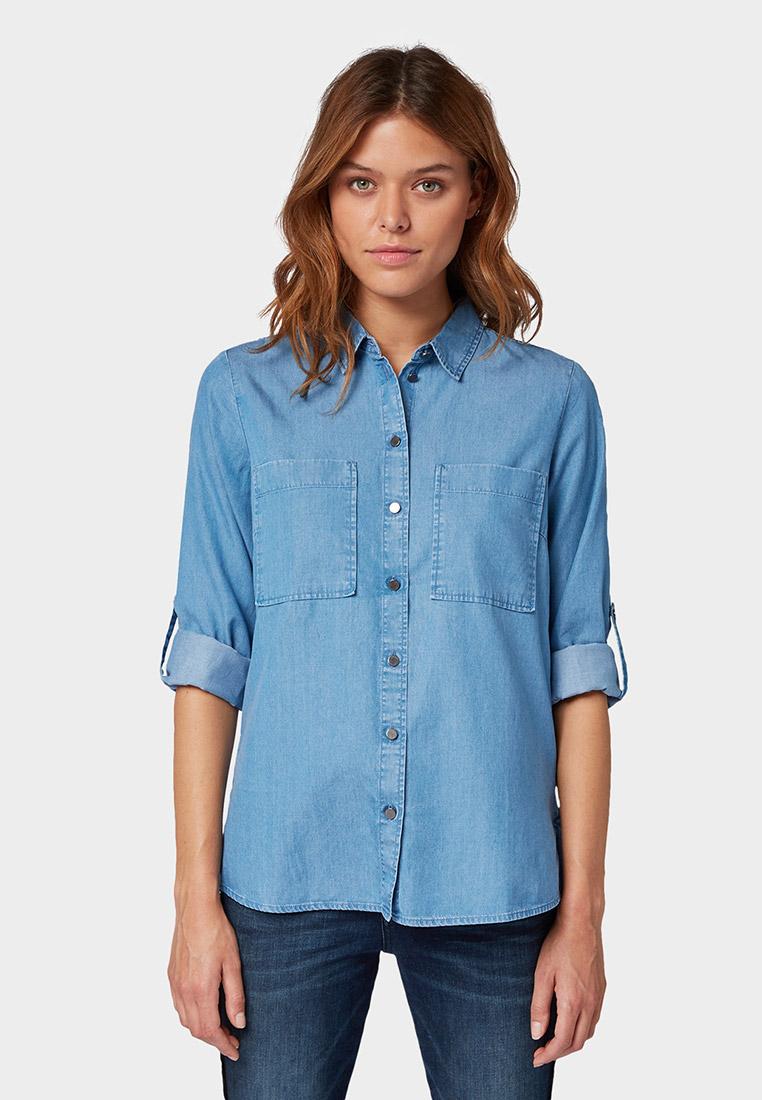 Женские джинсовые рубашки Tom Tailor (Том Тейлор) 1015011
