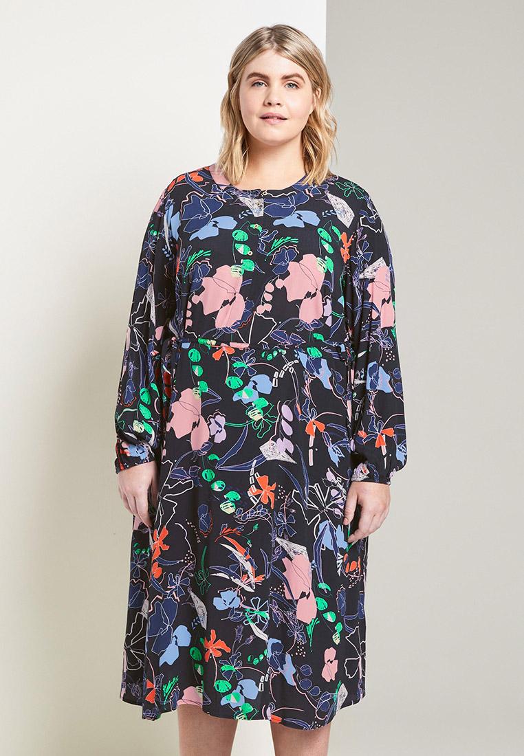 Повседневное платье Tom Tailor (Том Тейлор) 1016539: изображение 1
