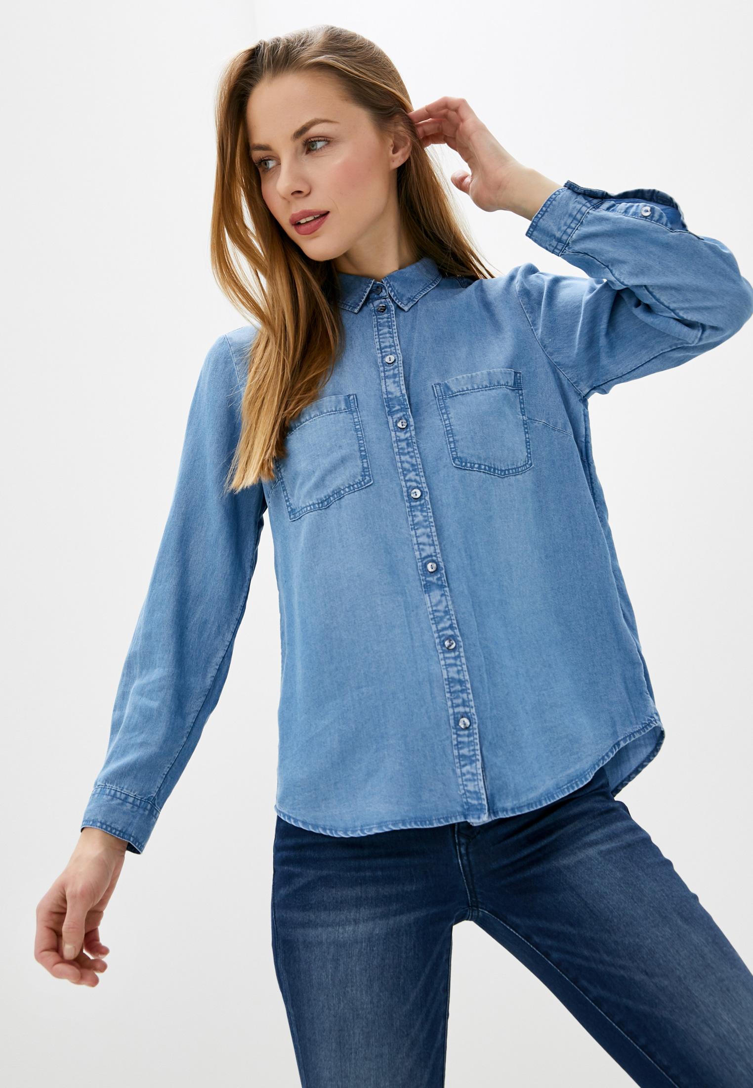 Женские джинсовые рубашки Tom Tailor (Том Тейлор) 1016200