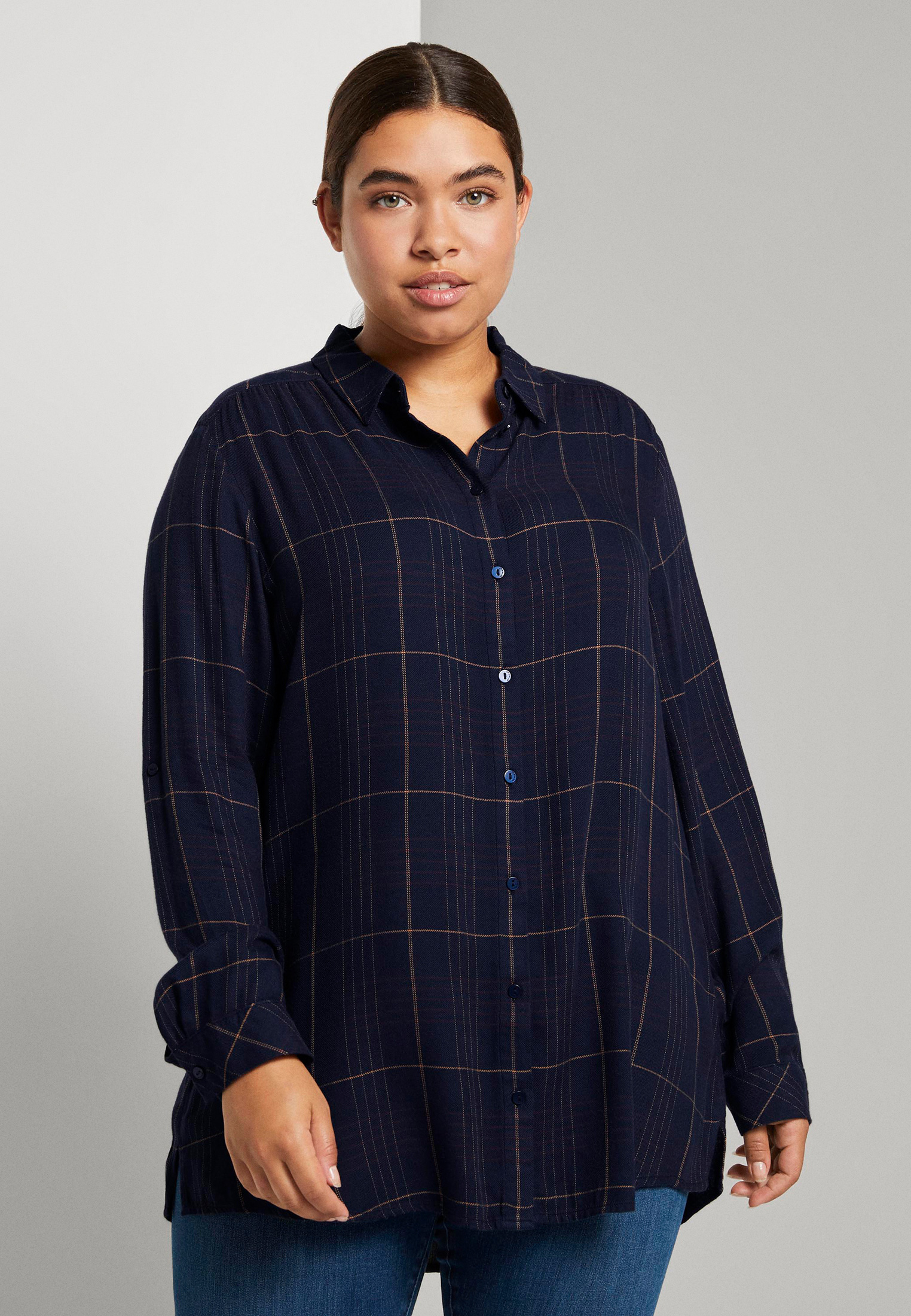 Женские рубашки с длинным рукавом Tom Tailor (Том Тейлор) 1021761