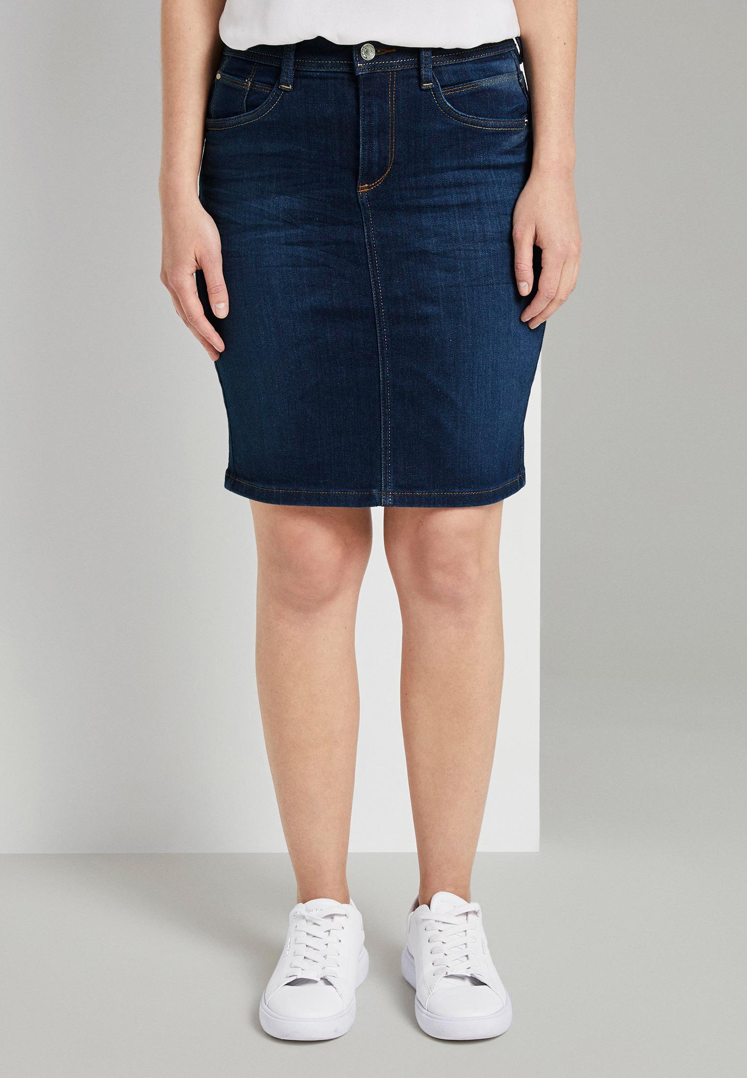 Джинсовая юбка Tom Tailor (Том Тейлор) 1022201
