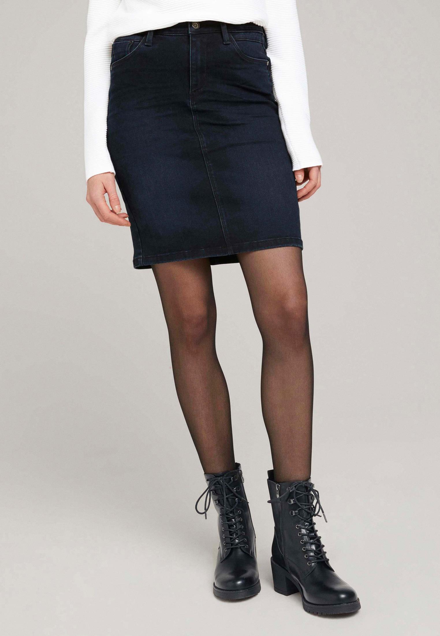 Джинсовая юбка Tom Tailor (Том Тейлор) Юбка джинсовая Tom Tailor