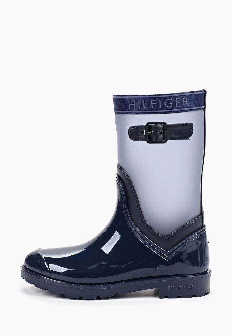 Женские резиновые сапоги Tommy Hilfiger (Томми Хилфигер) FW0FW04126