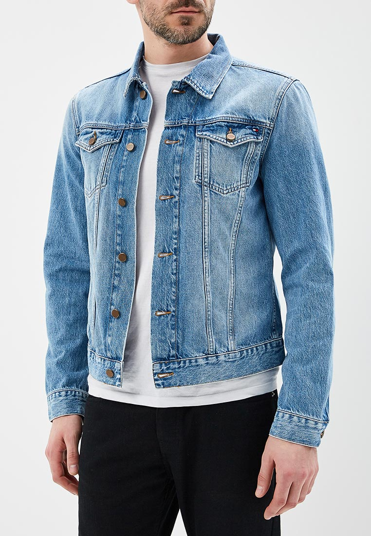 Джинсовая куртка Tommy Hilfiger (Томми Хилфигер) MW0MW06407  изображение 1 6fc3b3b1653f3