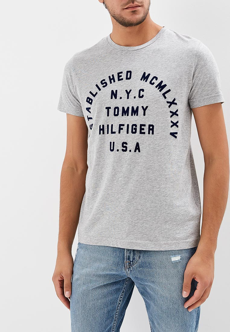 Футболка с коротким рукавом Tommy Hilfiger (Томми Хилфигер) MW0MW08368