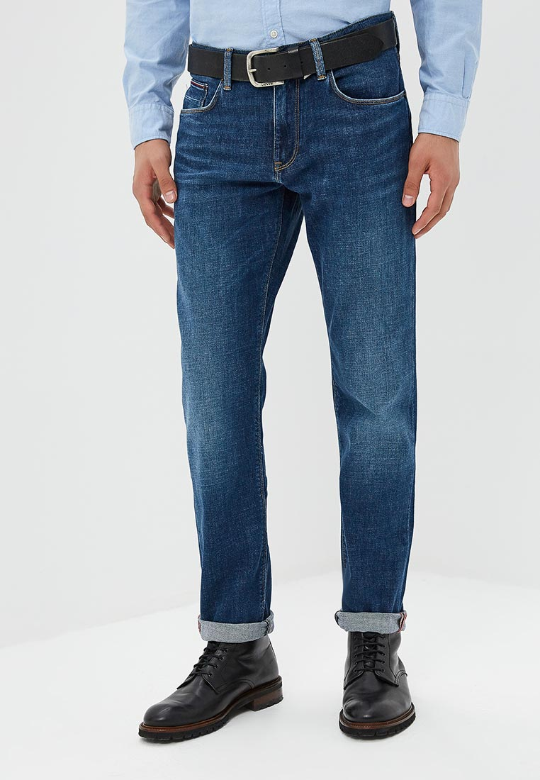 Мужские прямые джинсы Tommy Hilfiger (Томми Хилфигер) MW0MW08093