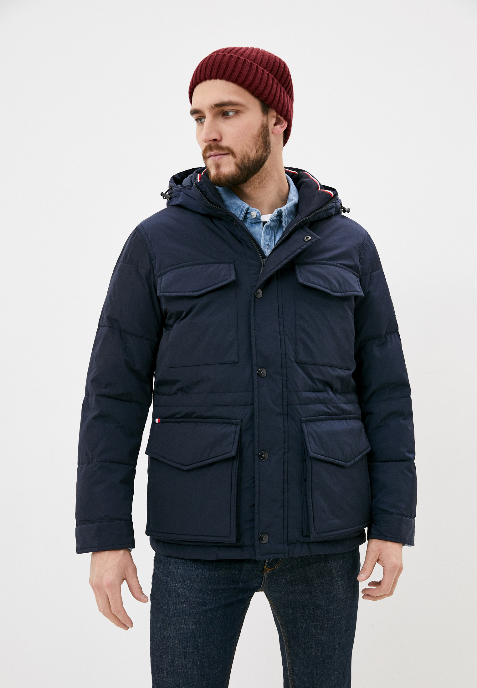 Утепленная куртка Tommy Hilfiger (Томми Хилфигер) MW0MW14993