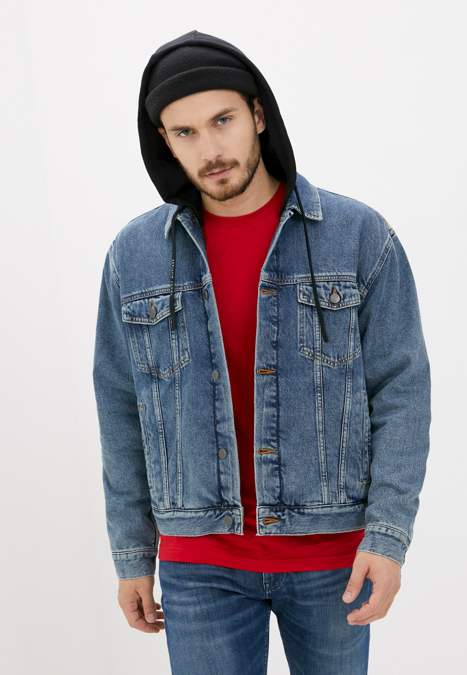 Джинсовая куртка Tommy Hilfiger (Томми Хилфигер) MW0MW15303