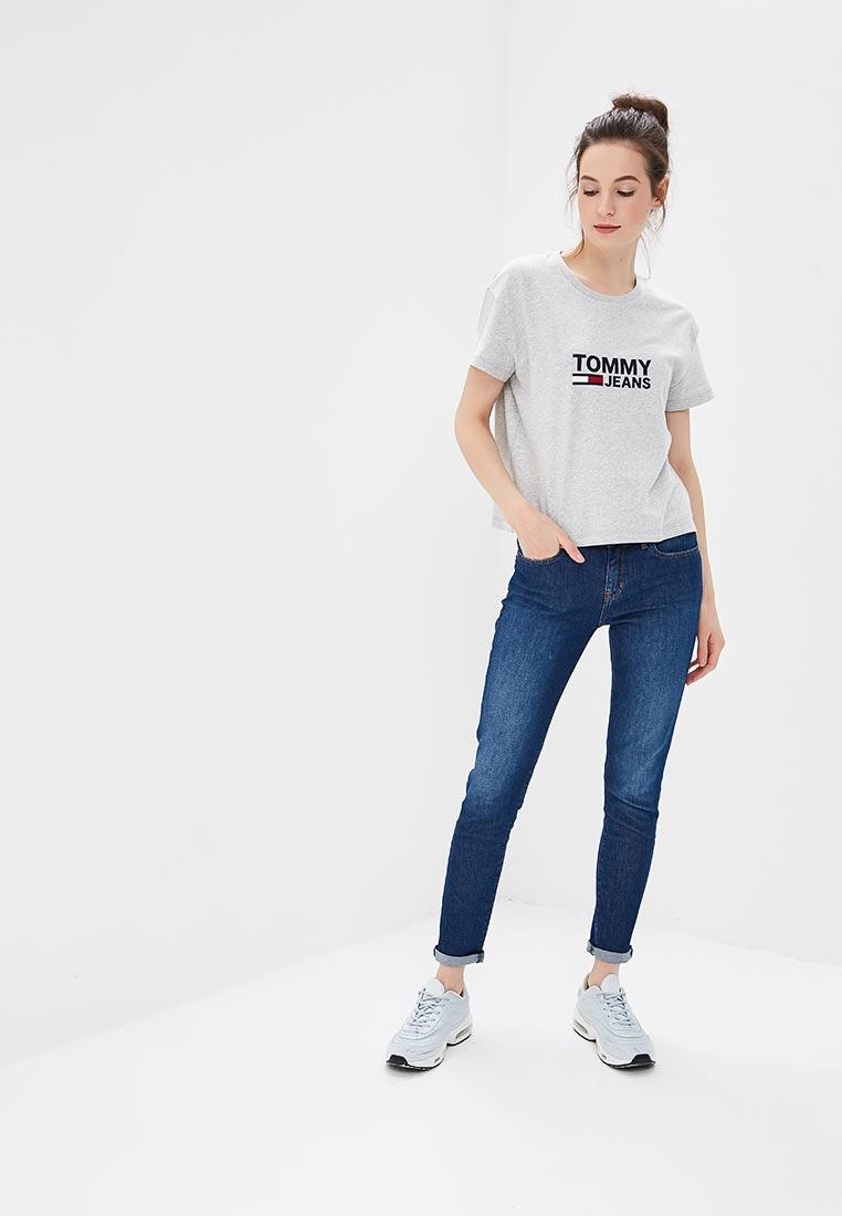 Зауженные джинсы Tommy Hilfiger (Томми Хилфигер) WW0WW22275: изображение 2