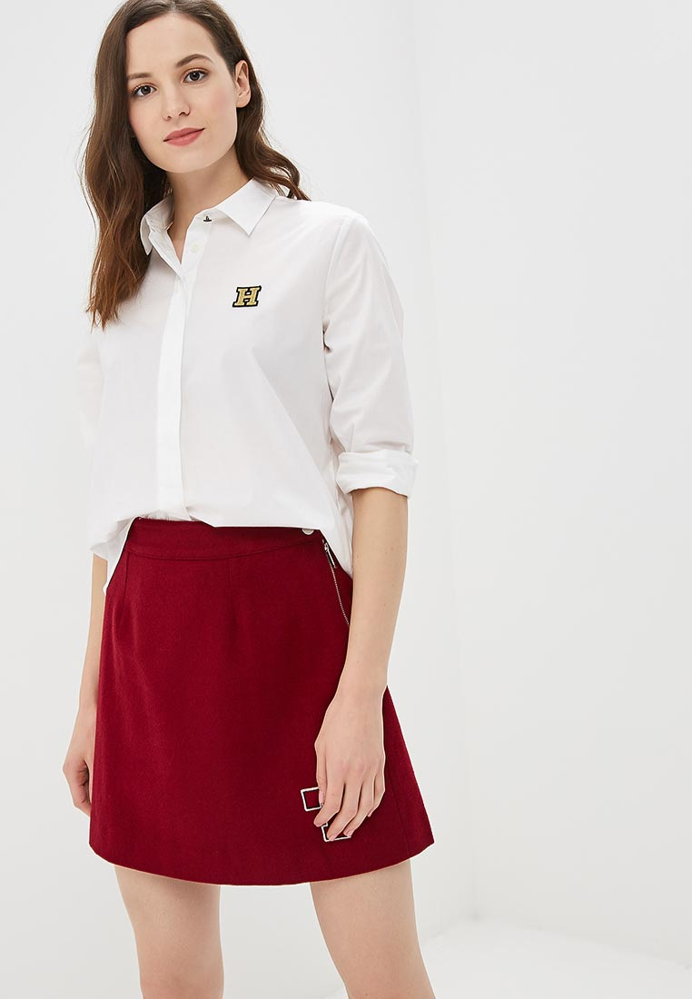 Женские рубашки с длинным рукавом Tommy Hilfiger (Томми Хилфигер) WW0WW23605