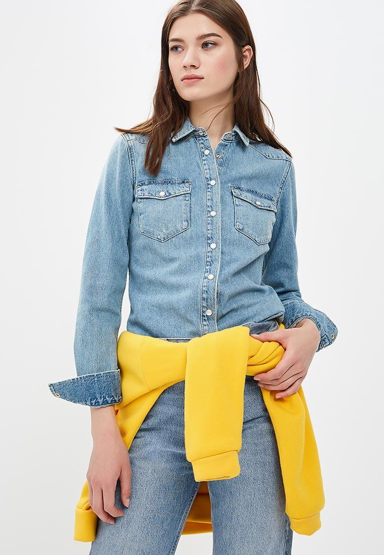 Женские джинсовые рубашки Tommy Hilfiger (Томми Хилфигер) WW0WW23778