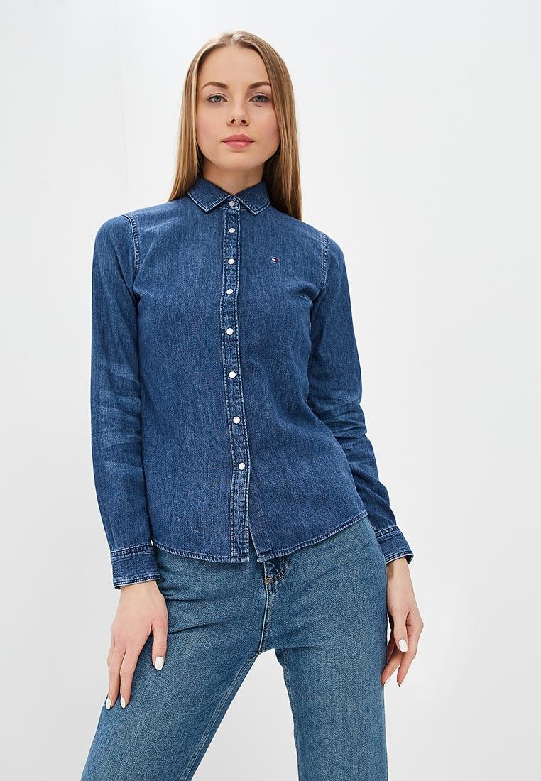 Женские джинсовые рубашки Tommy Hilfiger (Томми Хилфигер) WW0WW23832