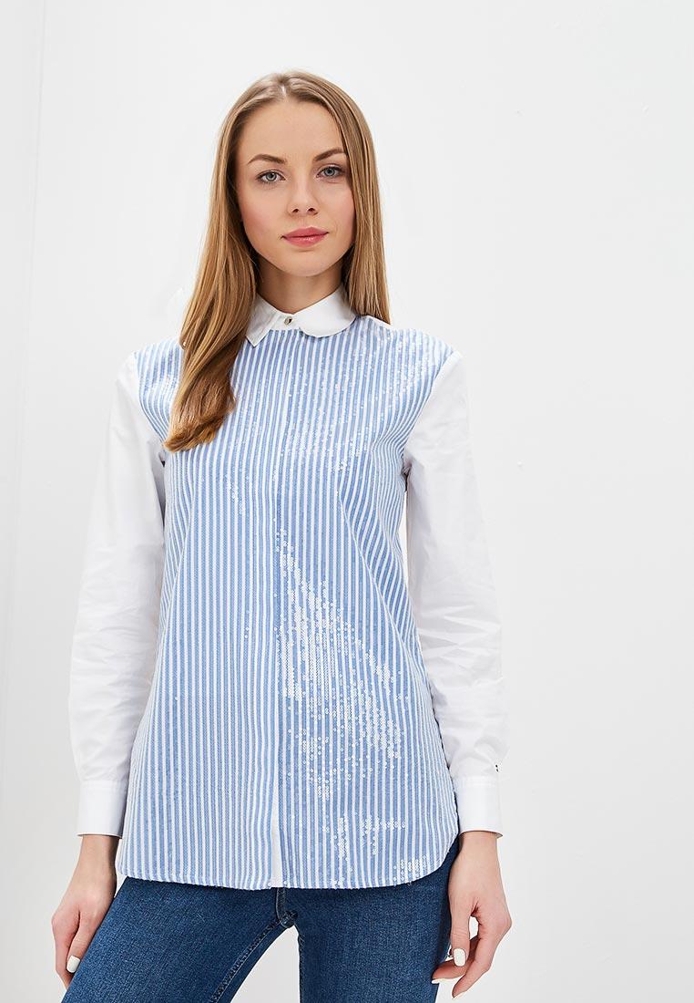 Женские рубашки с длинным рукавом Tommy Hilfiger (Томми Хилфигер) WW0WW24748