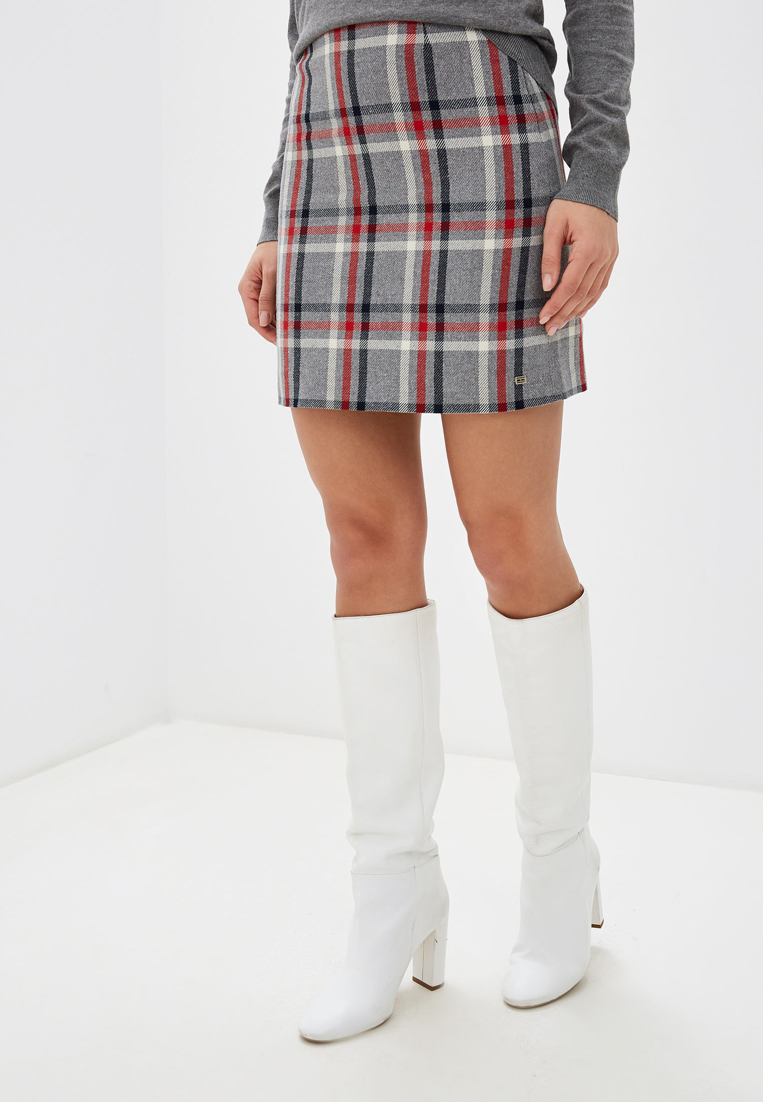 Прямая юбка Tommy Hilfiger (Томми Хилфигер) WW0WW25898