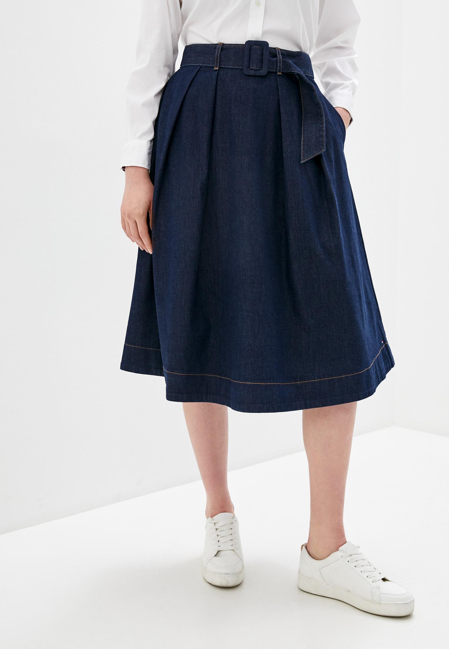 Джинсовая юбка Tommy Hilfiger (Томми Хилфигер) WW0WW27370