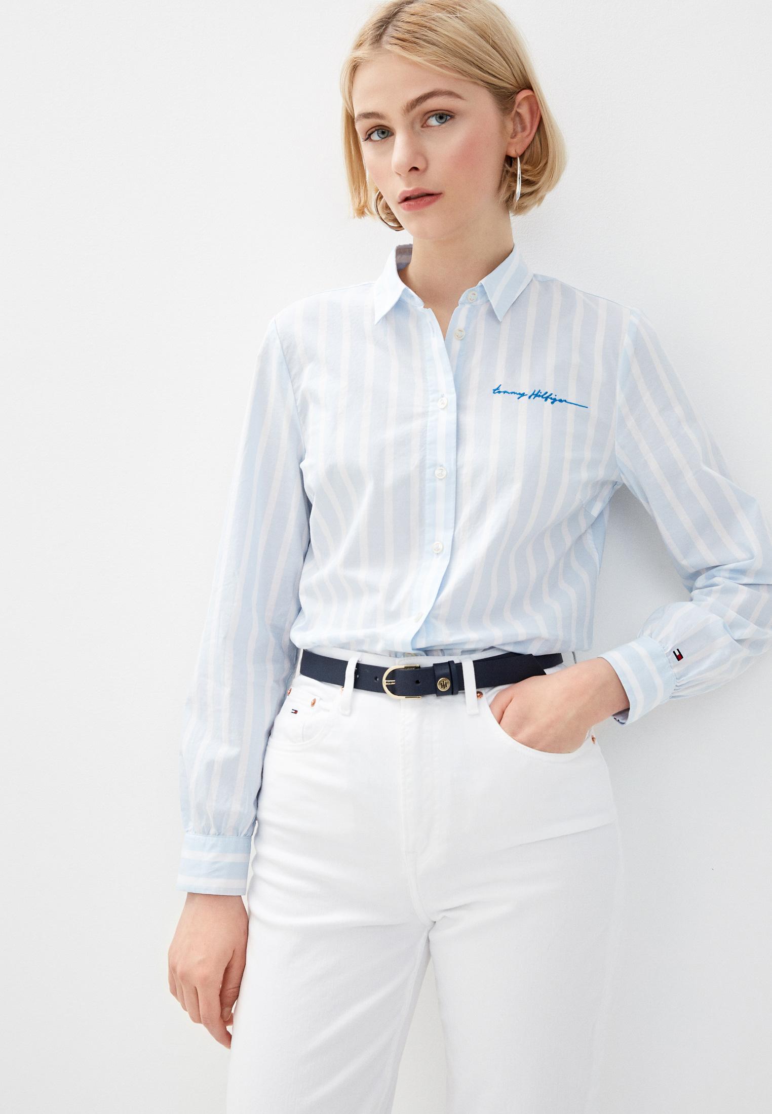 Женские рубашки с длинным рукавом Tommy Hilfiger (Томми Хилфигер) WW0WW27479