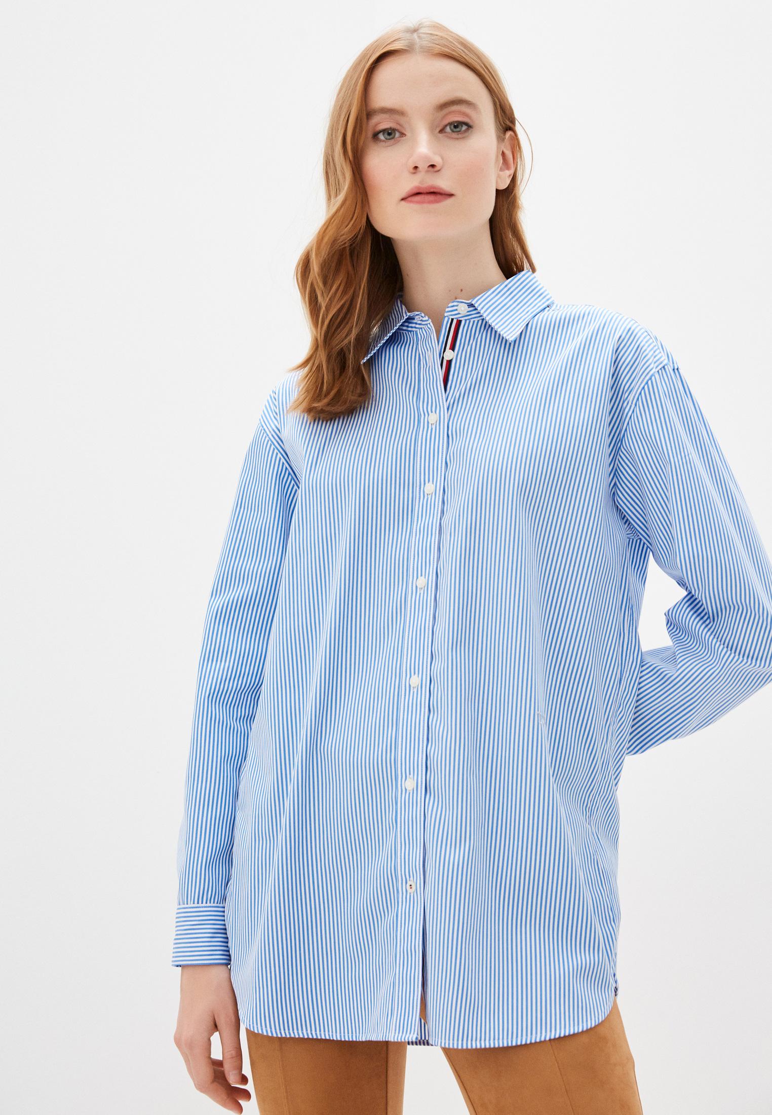 Женские рубашки с длинным рукавом Tommy Hilfiger (Томми Хилфигер) WW0WW27893