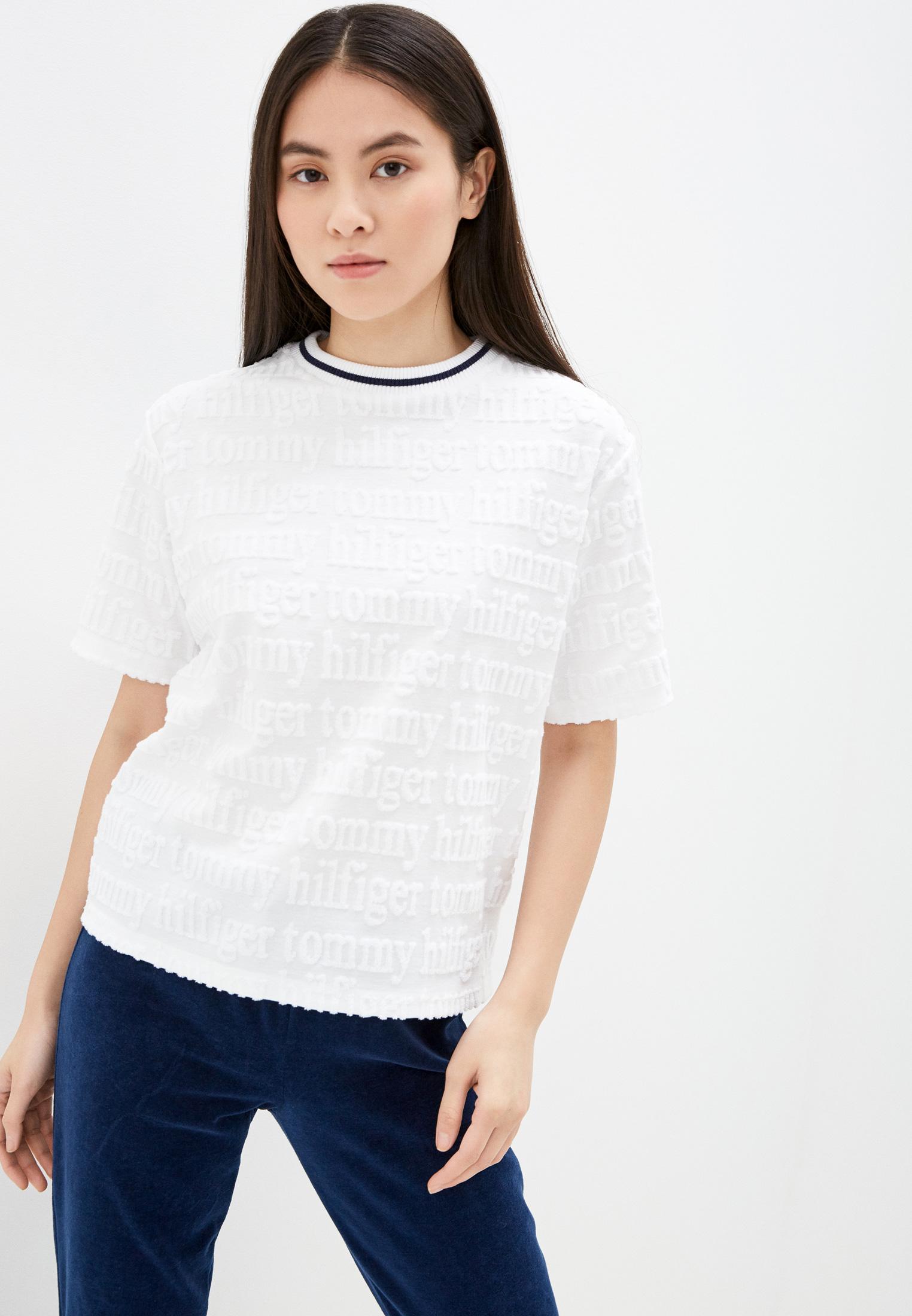 Домашняя футболка Tommy Hilfiger (Томми Хилфигер) UW0UW01618