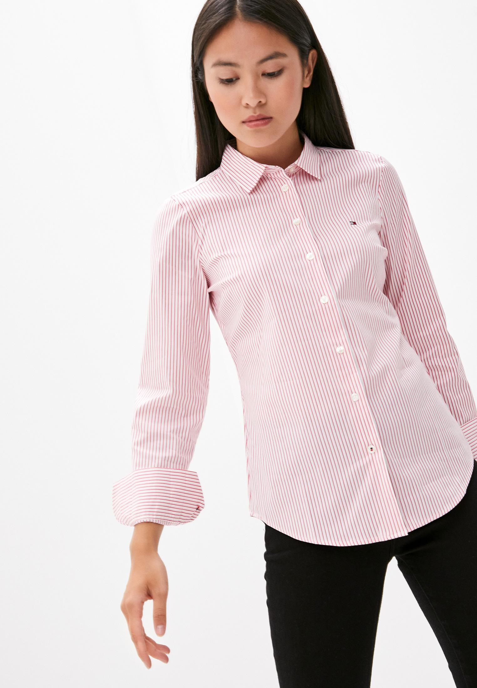 Женские рубашки с длинным рукавом Tommy Hilfiger (Томми Хилфигер) WW0WW28150